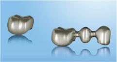 ノーベルプロセラ チタン(歯科技工物)
